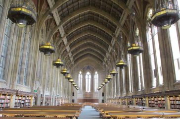 Suzzallo Library at the University of Washington. (Photo by Robert Ashworth, Creative Commons Attribution 2.0 Generic license)