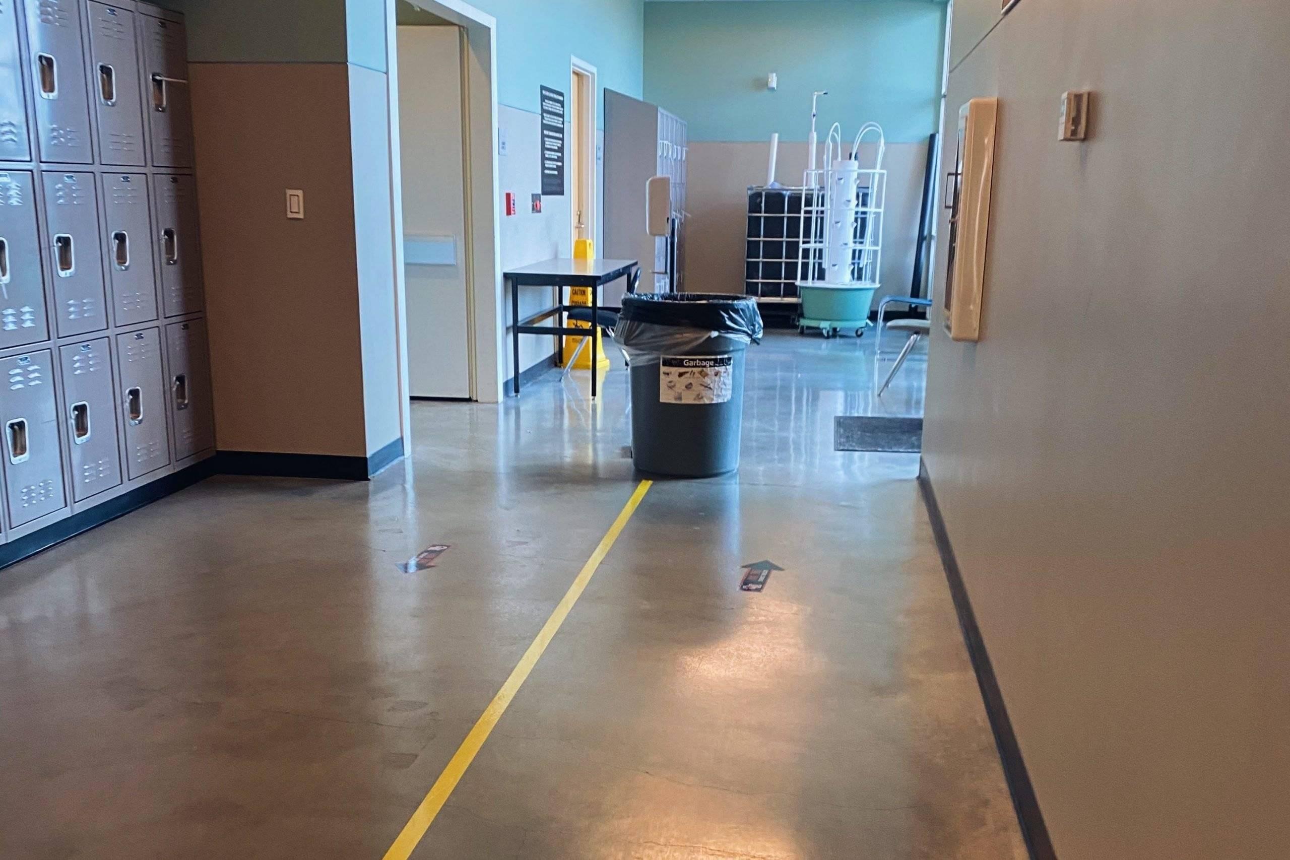 EC Hallway COVID