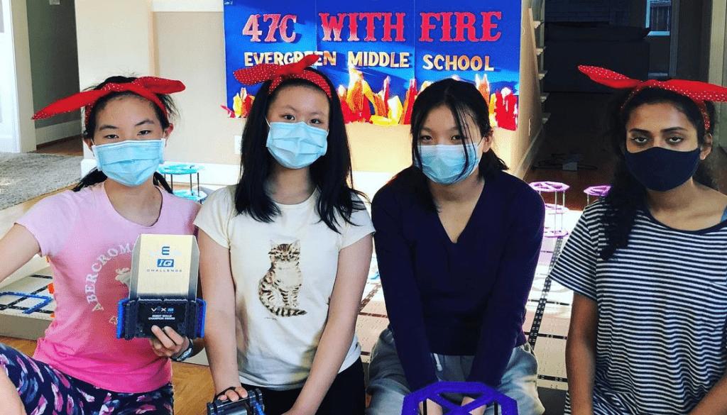 47C With Fire Robotics Team.