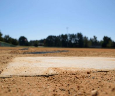 Home plate.