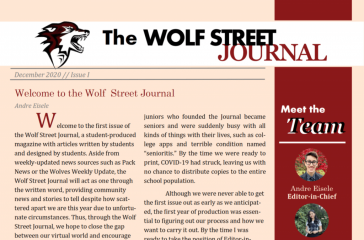 Wolf street journal front page.