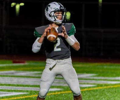 Skyline quarterback Joaquin Valdez.