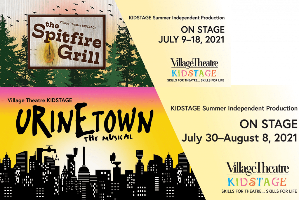 Spitfire Grill and Urinetown Ad.