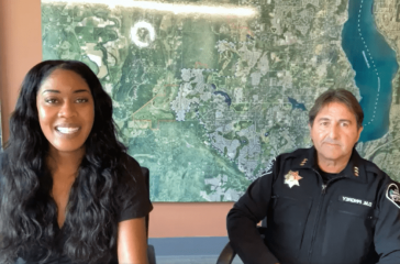 Police chief virtual town hall
