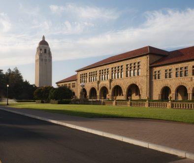 Stanford campus.